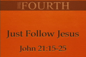 Just Follow Jesus