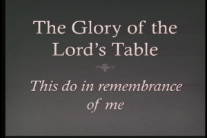 glory of the Lords table
